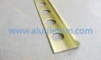 Aluminum floor trim