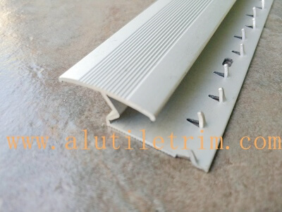 Z Bar Aluminum Carpet Edging Tile Trim Provider